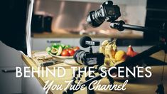 How to make a YouTube Video | Behind the Scenes Cooking Channel Healthy Soup, Easy Healthy Recipes, Easy Meals, Salmon Green Beans, Detox Recipes, Videography, Food Videos, Behind The Scenes, Healthy Living