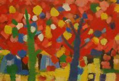 Gerrit Benner (1897-1981) was een Nederlands schilder. Hij leerde Siep van den Berg en zijn vrouw Fie Werkman kennen en kwam zo in aanraking met het werk van Hendrik Werkman, waardoor hij korte tijd werd beïnvloed. Ook vond hij inspiratie bij de kunstenaars van de Ecole de Paris zoals Bazaine, Soulages en Manessier. Zijn werk heeft raakvlakken met Cobra en De Ploeg.- Zomerbos, 1953