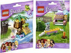 #41019 LEGO Friends Turtle's Little Oasis –&   #41022 LEGO Friends Bunny's Hutch