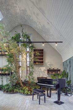 Z nudné kanceláře organickou džunglí odpočinku | Insidecor - Design jako životní styl