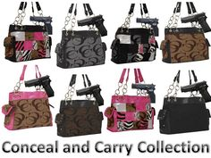 Conceal and Carry Purse Discount Celebrate your freedom to carry! Dramatic savings on our entire Conceal and Carry Purse collection. Don't miss out on 15% off - Visit our website!. www.handbagsblingmore.com