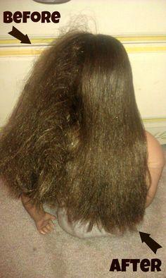 Making doll hair pretty again-  Simple & #frugal!