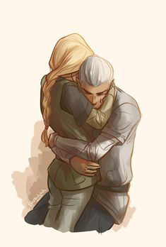 Aelin and Rowan.
