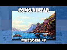 Como Pintar: Paisagem #8 (Passo a Passo) - YouTube