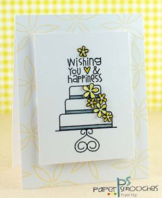 PS DT member Kryssi Ng using Hubby & Wifey Paper Smooches stamp set