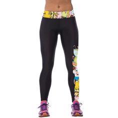 2016 High Elastic Slim Leggins Sexy Women Polyester Spandex Leggings Fitness Workout Trousers 3D Print Pants