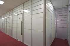 Partitions in office