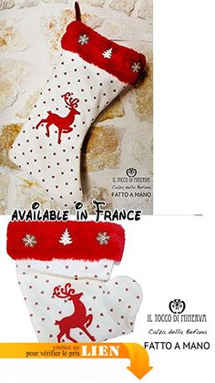 Christmassy bas Renna fait à la main Made in Italy.  #Guild Product #GUILD_BABY