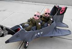 BABY TOP GUN COSTUME! I forgot how ridiculous and awesome this is!!