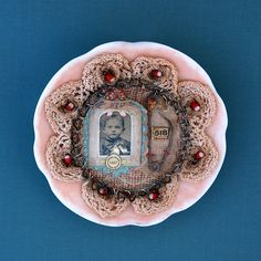 safety pin, The Swallowing Plates by Lisa Wood