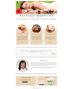 Masszázs szolgáltató weboldala, egyszerű, nagyszerű.   Egyedi webáruház, weboldal  készítéshez írj a  kapcsolat@penta.team címre.    #ourprojects #webdesign   #vallalkozas #webshop #weboldal #pentateam Projects, Shopping, Log Projects, Blue Prints