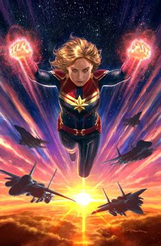 """21 Secrets About The """"Captain Marvel"""" Costumes That Will Make You Say, """"Wait, That's Really Cool"""" Ms Marvel, Disney Marvel, Marvel Girls, Marvel Heroes, Marvel Avengers, Costumes Marvel, Captain Marvel Costume, Marvel Universe, Heroine Marvel"""
