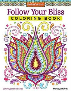 Follow Your Bliss Coloring Book Activity