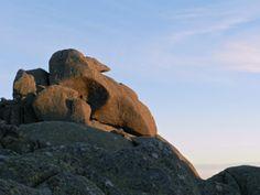 Monte Limbara, Punta Sa Berritta - tramonto in gennaio, Sonnenuntergang im Januar, sundown in january