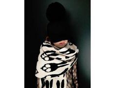 Caroline Bosmans | Brush scarf | Light