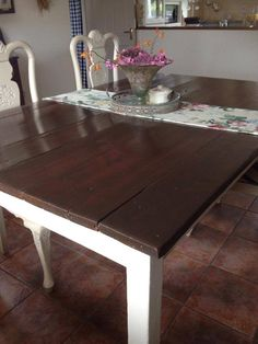 all you need to know - Shabby. Water Based Stain, General Finishes, Raw Wood, Quality Furniture, Need To Know, How To Introduce Yourself, Painted Furniture, Dining Table, It Is Finished