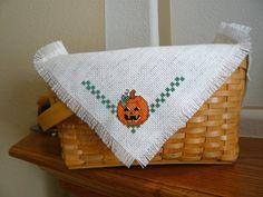 Jack O Lantern Halloween Cross Stitched by TheGardenStitcher