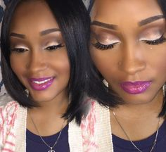 #TheBeautyBoard Makeup of the Day: beauty makeover by Veediddy. Upload your look to gallery.sephora.com for the chance to be featured! #Sephora #MOTD