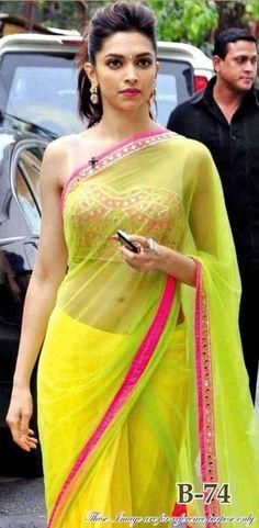 sister of the bride - mehendi Deepika Lemon yellow saree - Chennai Express