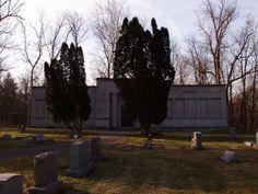 Mausoleum Otterbein Cemetery Westerville, Ohio