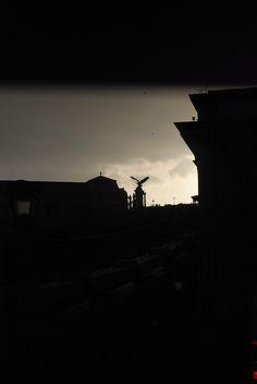 sötétedés