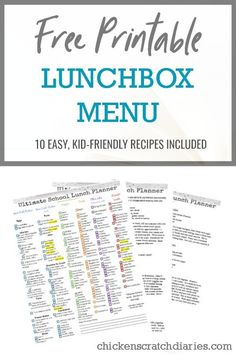 Need lunch ideas for kids? This printable checklist will help organize your shopping trip and plan school lunchbox fare for weeks. School Lunch Box, School Lunches, Lunch Boxes, Lunch Box Recipes, Lunch Ideas, Kids Planner, Positive Parenting Solutions, Kids Checklist, Parenting Plan
