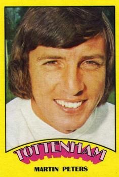 1974-75 A&BC Gum #92 Martin Peters Front