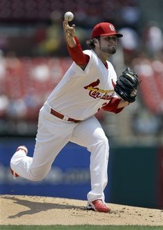 St. Louis Cardinals starting pitcher Lance Lynn