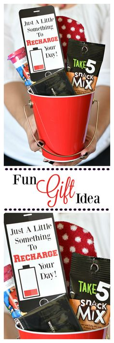Just Because Gift Idea: Recharge your Day!
