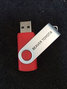 USB drives are great promo items that people hang on to for a long time