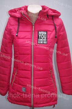 521e5523273 Демисезонная подростковая куртка на девочку красная