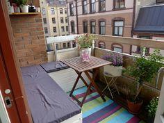 Jenny, vänner & Fanny: Världens finaste balkong...