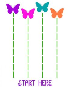 Butterfly crafts for preschool. Great spring crafts and activities about butterflies for early childhood education classrooms. Preschool Cutting Practice, Cutting Activities, Preschool Learning, Preschool Activities, Physical Activities, Physical Education, Preschool Prep, Dementia Activities, Health Education