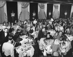 Vintage 1944, the Stork Club's Main Dining Room, NYC, www.RevWill.com