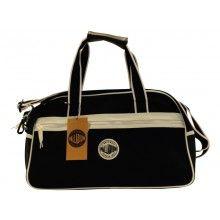 Palladium Blanc Canvas Bowler zwart Gym Bag, Canvas, Bags, Fashion, Tela, Handbags, Moda, Fashion Styles, Canvases