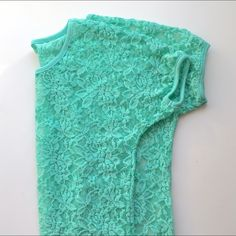 NWOT Lace Shirt NWOT. Beautiful Lace Shirt! Tops Tees - Short Sleeve