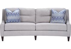Shop for a Sofia Vergara Kinney Heights Sofa at Rooms To Go. Find Sofas that will look great in your home and complement the rest of your furniture. #iSofa #roomstogo