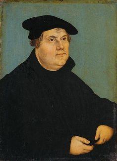 Lucas Cranach the Elder | Martin-Luther-um-1543