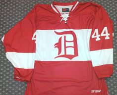 Custom sublimated vintage Detroit jersey  Gitchsw Facebook - Gitch  Sportswear 183fb6f98