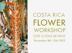Peartree: COSTA RICA FLOWER WORKSHOP