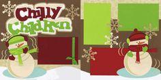 Chilly Children-Boy Page Kit