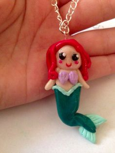 Ariel ariel necklace disney ariel cute ariel by LittlePandahugs