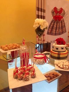 Burberry Baby Shower Party Ideas   Photo 14 of 20