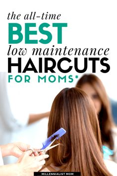mom hairstyles Easy, simple, low maintenance haircuts for busy moms because aint nobody got time for that. When it comes to self care, im short on time. Cute Mom Haircuts, Easy Mom Hairstyles, Easy Short Haircuts, Haircuts For Medium Hair, Haircut For Thick Hair, Medium Hair Cuts, Short Hairstyle, Hairdos, Wig Hairstyles