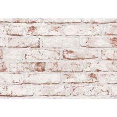 Vliestapete, Livingwalls, »Mustertapete Bruchsteinmauer«