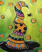 Sips n Strokes - View by Painting Halloween Canvas Paintings, Fall Canvas Painting, Halloween Painting, Autumn Painting, Autumn Art, Tole Painting, Painting & Drawing, Canvas Art, Canvas Ideas