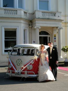 Split Screen Bus VW wedding