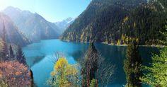 Jiuzhaigou, an attractive place in Sichuan Province, China.