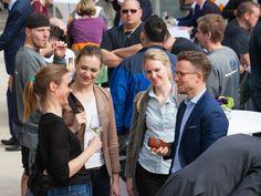 Gartenhaus Berlin - Fotos vom Richtfest (Team Grossmann & Berger und BPD)
