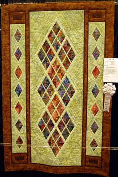 """""""Window to Heaven"""" Quilt by Susie Weaver ~ I LOVE this!"""
